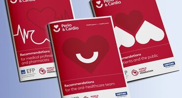 Guidelines, graphics, and animation: the key components of the Perio & Cardio campaign