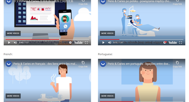 EFP releases Perio & Caries animation in 10 languages