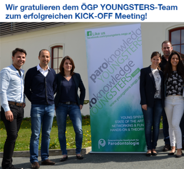 """Youngsters"" kick off pair of Austrian perio society meetings"