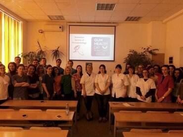 Gum Health Day 2019: Romania – explaining the new classification of periodontal diseases