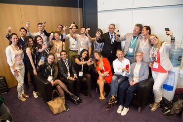 Meet the team that helped spread the word about EuroPerio9