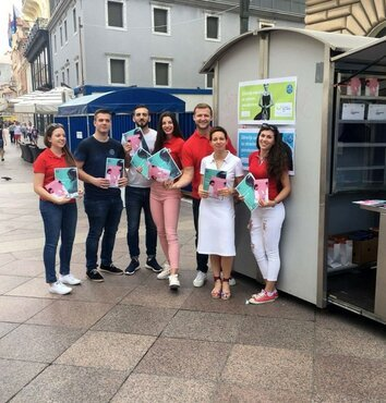Croatia: Public events and focus on oral health in pregnancy