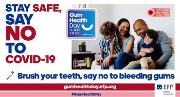 Gum Health Day 2020 will have online focus with emphasis on videos and social media