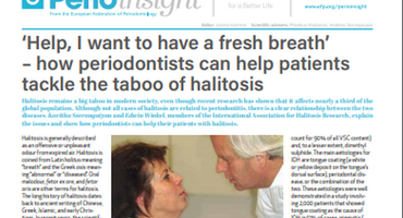 Perio Insight explores challenge of the `taboo' topic of halitosis