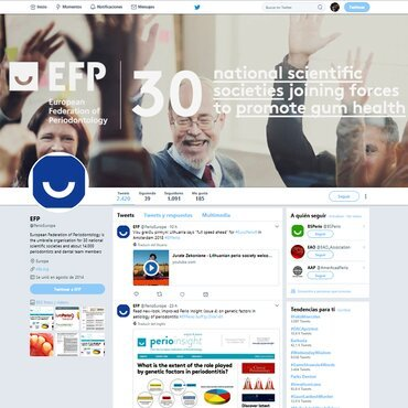 The EFP's Twitter page grows in reach and popularity