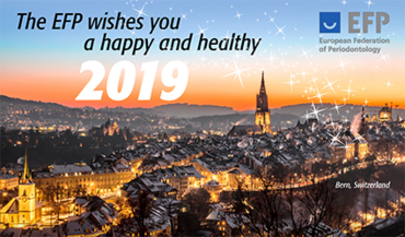 EFP president Anton Sculean reflects on a successful 2018 and looks forward to the new year