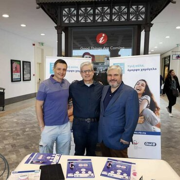 Gum Health Day 2019: Greece – information kiosks and free examinations