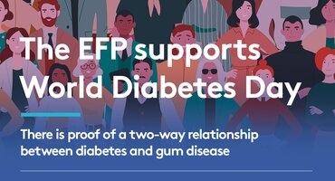 World Diabetes Day: EFP highlights latest research on perio-diabetes link
