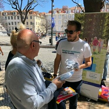 Gum Health Day 2019: Portugal – street action in three cities