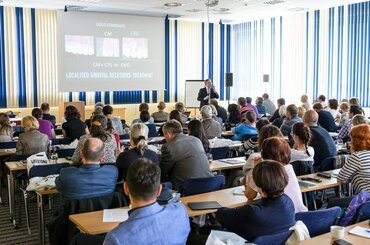 Mariano Sanz gives keynote lecture at Czech perio society event