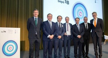 SEPA awards health-promotion prize to the EFP