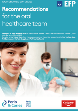 Brochure empowers the oral-healthcare team to tackle gum disease and caries