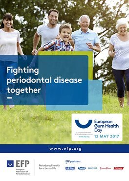 EFP provides guidance and resources to national perio societies for European Gum Health Day 2017