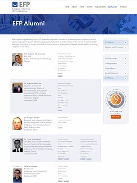 More than 130 people have already registered for EFP Alumni