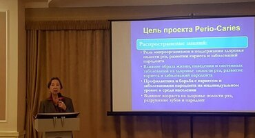 Ukrainian perio society presents Perio & Caries project at national congress