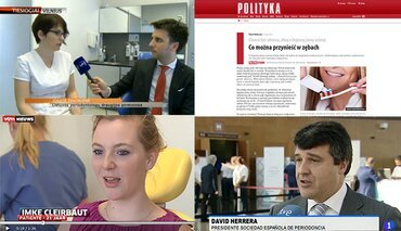 European Day of Periodontology makes a big impact in the media