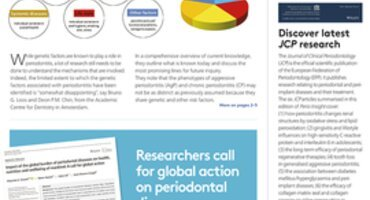 New-look Perio Insight magazine puts spotlight on genetics and highlights latest periodontal research