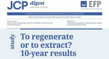 Periodontal regeneration can be 'first choice of treatment' in severe cases