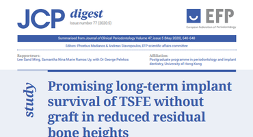 TSFE without graft does not present higher risk of implant failure, JCP Digest