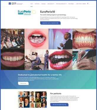 New-look EFP website is launched with enhanced section for patients and 'brighter' look