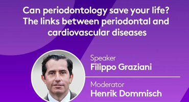 'Can perio save your life?'  Next EFP Perio Sessions webinar explores links between periodontal and cardiovascular health