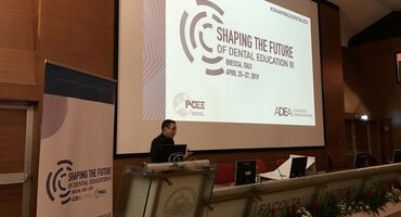 Lior Shapira tells international dental congress how 'networking' is essence of the EFP