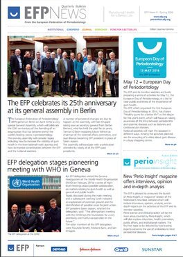 Spring edition of EFP News quarterly bulletin is now available to download